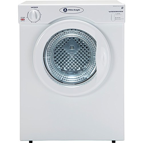 White Knight C37AW Freestanding Front-Loading 3kg Unspecified White Tumble Dryer