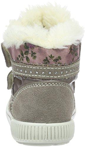 Primigi Bissy-E, Chaussures Marche Bébé Fille Gris - Grau (TALPA/Taupe)