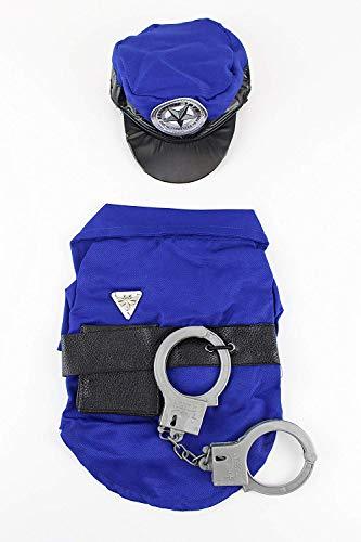 Midlee Police Man Hund Kostüm, Medium