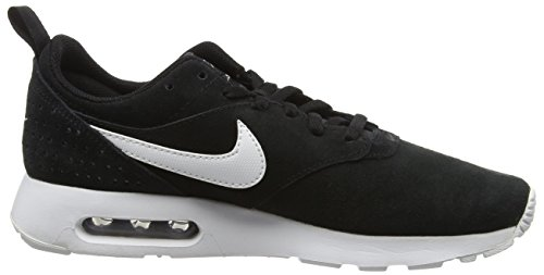 Nike Air Max Tavas Leather, Baskets Basses homme Noir (001 Black)
