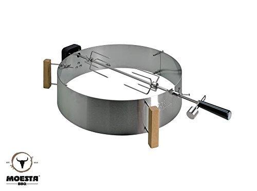 Moesta-BBQ Smokin' PizzaRing - Komplettpaket für Rotisserie (57cm)