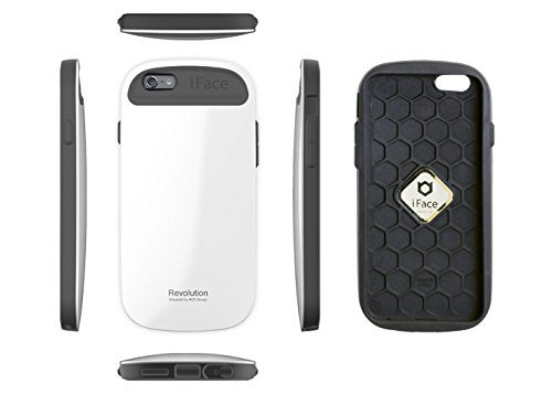iFace Revolution 5.5 inch Case for iPhone 6 Plus Apple New iPhone 6 Plus Case 2014 Model 5.5 inch (White) Black