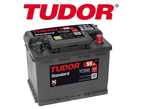 batteria Tudor 55ah/460A (EN) + D Gamma Standard 2anni di garanzia Auto Furgone SUV 4X 4Maxima qualità dimensioni lunghezza: 242mm larghezza: 175mm altezza: 190mm