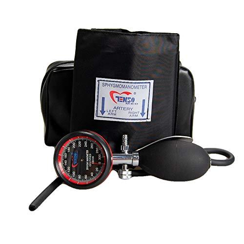 Palm Aneroid Sphygmomanometer klinischen Sphyg Erwachsenen-Manschette -