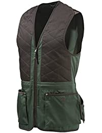 Beretta universal Trap Cotton tiro Chaleco, hombre, color verde/marrón, tamaño large
