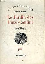 Le Jardin des Finzi-Contini. Roman traduit de l'italien par Michel Arnaud. de BASSANI (Giorgio).