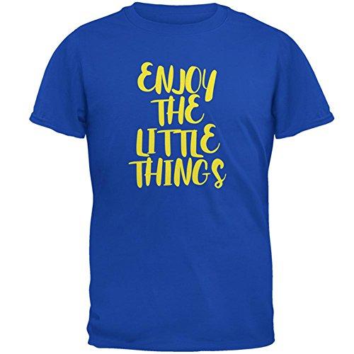 Genießen Sie die kleinen Dinge-Mens-T-Shirt Blue
