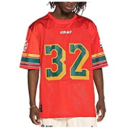 Grimey Camiseta Football Wild Child SS19 Red-S