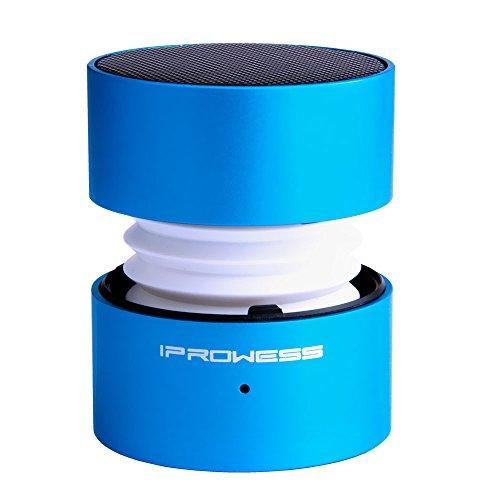 Gladron altavoces portátiles, mini altavoces Bluetooth con 7 colores Led luz de pantalla cambiable, incorporado Mic manos de apoyo Función de llamada gratuita Perfecto para Iphone, Ipad, Mac, Laptop, PC, MP3, MP4, Tablet, Smartphone Android(azul)