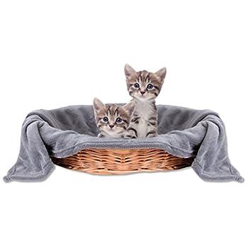 Animal Couverture Couverture Chat Animal, confortable et super doux Disponible en plusieurs couleurs