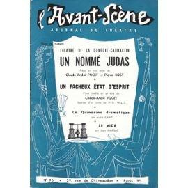 L'avant scène théatre n°96 : Un nommé judas