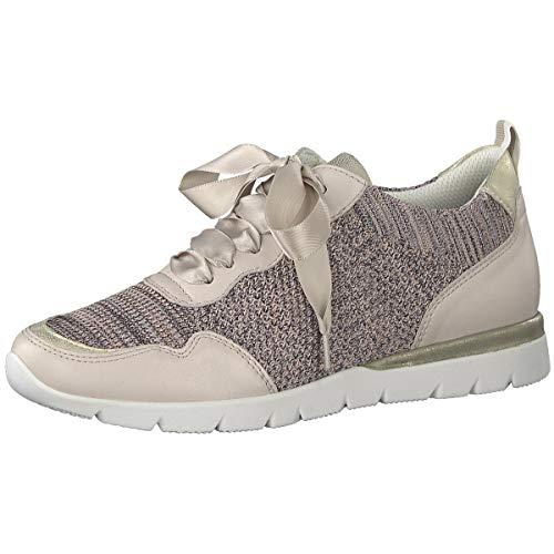 Jana Damen 8-8-23615-22 Sneaker, Rot (Rose Comb. 502), 36 EU