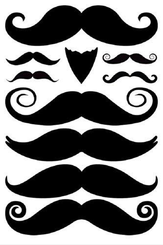 StacheTATS The Gentleman Temporary Mustache Tattoo by StacheTATS
