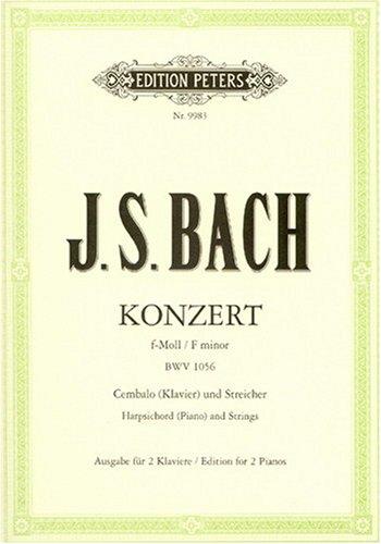 Konzert fr Cembalo, Streicher und Basso continuo...