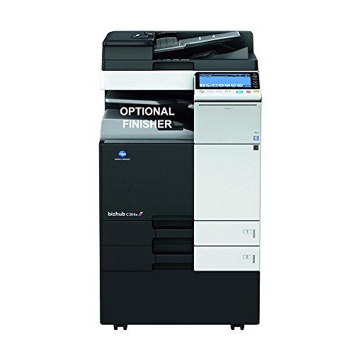 Konica Minolta BizHub C284E Farb-Multifunktions-Laserdrucker, 28 ppm, Kopieren, Drucken, Scannen, 2 Fächer -