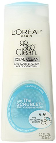 Loreal Paris Dermo Expertise Go 360 Clean Deep Facial Cleanser For Sensitive Skin 178 ml With Free Ayur Sunscreen 50 ml  available at amazon for Rs.588
