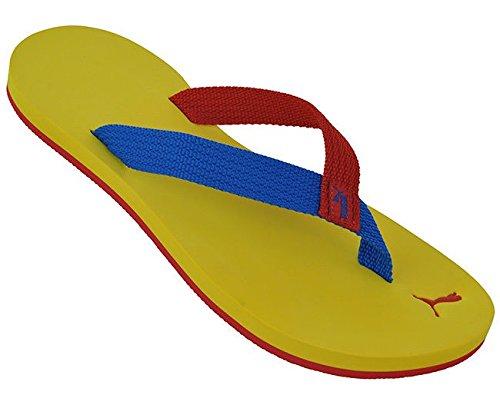 Puma Herren Dedo II Brazil Sommer Strand Flip-Flop- Sandalen-Yellow-46
