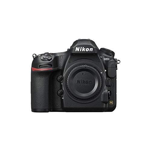 Nikon D850 Cuerpo de la Cámara SLR 45.7MP CMOS Negro - Cámara Digital (45,7 MP, 8256 x 5504 Pixeles, CMOS, 4K Ultra HD, Pantalla Táctil, Negro)