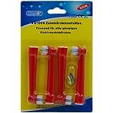 oral-q eb10-a, 8 pc (2 unidades) estándar recambios cabezales para cepillos de dientes eléctricos para niños para para Braun Color al azar