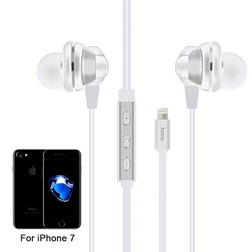 ToxTech L1 Wired auricolari per iPhone 7 fulmini interfaccia Bianco