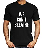 Negro Vive la Materia-I No Puedo Respirar Hombres Mujer Libertad Civil Derechos Tops Camiseta Corto Manga Blusas 5-Styles / A1 / S