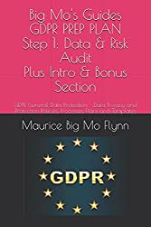 Big Mo's Guides: GDPR PREP PLAN - Step 1: Data and Risk Audit Plus Intro and Bonus Sections: Data Privacy and Protection Policies, Processes, Plans ... Data Protection Prep - Big Mo's Guides)