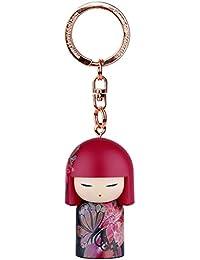 Porte clé Kokeshi Kimmidoll 5cm Manami - amour et beauté
