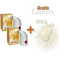 2 x Biova Salspiro Salzinhalator und Gratis Milchseife 25 g preisvergleich bei billige-tabletten.eu