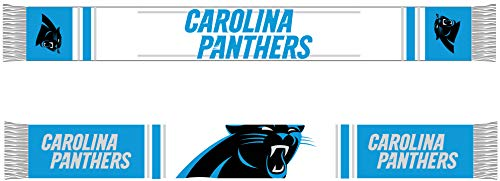 Forever Collectibles Carolina Panthers Bar Scarf Colour Rush Blue/White - One-Size (Blue Football Helm)
