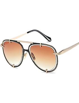 Aoligei Europa y Estados Unidos viento Metal street shoot Chao mans de gafas de sol gafas de sol doble vuelta...
