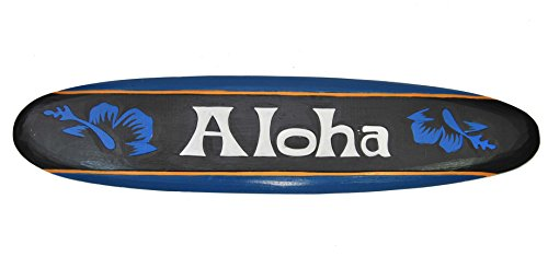 Surfboard 100cm Dekoration Aloha Tiki Board Hawaii Surfbrett