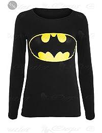 Be Jealous New Womens Sleeveless Muscle Racer Back Stretchy Ladies Comic Superman Batman Vest Superhero Hero Girls T Tee Shirt Tank Top