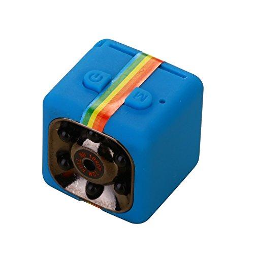 Balai SQ11 Mini DV Kamera HD Nachtsicht Kamera Mini versteckte Bewegungserkennung Kamera blau (Night Low Pc Vision Light)