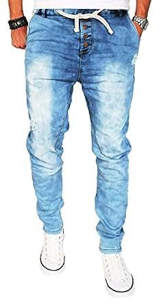 stylische herren jogg jeans hose jogging sweathose chino slim fit bekleidung. Black Bedroom Furniture Sets. Home Design Ideas