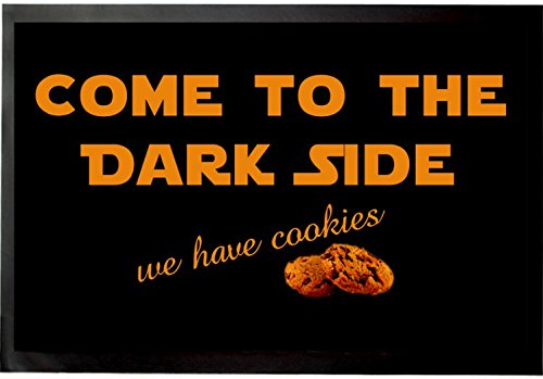 Felpudos Star Wars Come To The Dark Side, We Have Cookies Felpudo Alfombrilla (60 x 40cm)