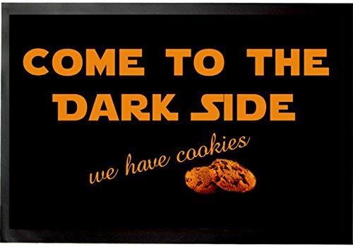 Felpudos Star Wars Come To The Dark Side, We Have Cookies Felpudo Alfo