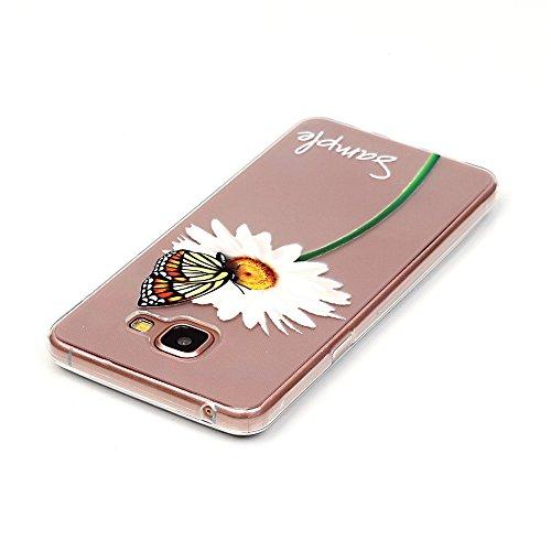 Custodia Apple iPhone 6 Plus / 6S Plus (5,5 Zoll), Cozy Hut Ultra Sottile Trasparente [Antigraffio] [Anti-Scratch] TPU Silicone Morbido Protettivo Coperchio Skin Custodia Bumper Protettiva Case Cover  Shiragiku farfalla