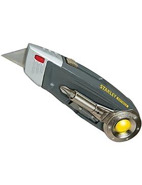 Stanley FatMax Multitool, Messer mit einziehbarer Trapezklinge (PH1/PH2/Schlitz 4,5,6 mm Bit, Kombizange) 0-71...