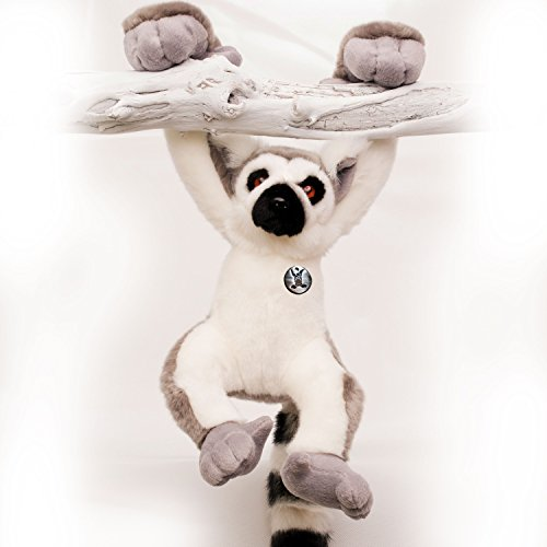 Katta Lemur KATHY Affe 56 cm Schlenkeraffe Hangelaffe Acrobats-Serie Plüschtier von Kuscheltiere.biz