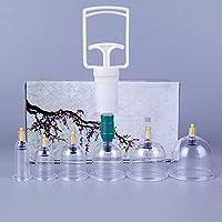 G-XQ 6 Saugnäpfe Mit Saugnapf, Für Rücken- / Nackenschmerzen, Ganzkörpermassage, Schröpfkopf-Therapie-Set preisvergleich bei billige-tabletten.eu