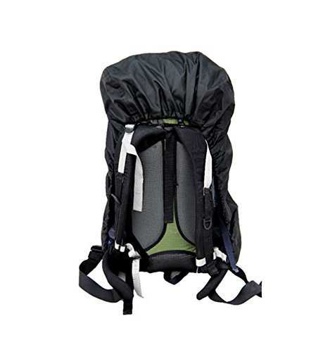 Tear Resistant Black Camping Hiking Water-proof Backpack Rain Cover ... 9f6267f1424a5