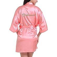 WEIMEITE Batas de Dama de Honor para el Banquete de Boda de Damas de Honor Kimono