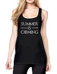 Summer is Coming Tanktop Girls Black Certified Freak