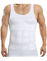 AARP'S Seamless Slimming Tummy Control Vest Mens Shapewear