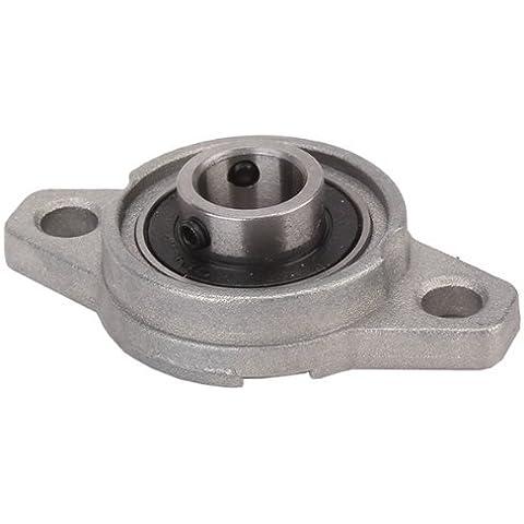 DN 12 mm FL001 de aleación de zinc Almohada bloque de cojinete Maquinaria Fabricación (Brida)