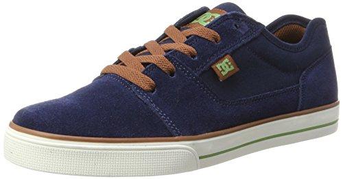 Dc-jungen Skate Schuhe (DC Shoes TONIK, Jungen Sneaker, Blau (Dark Navy), 32 EU (13 UK))