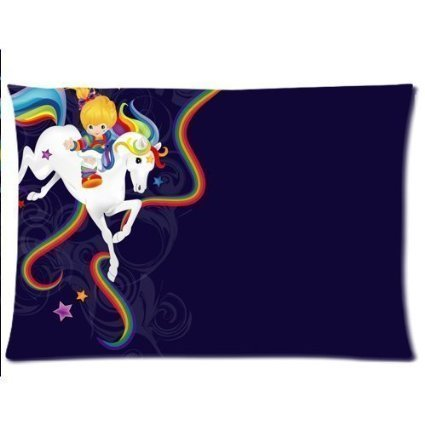 rainbow-brite-and-starlite-custom-cotton-polyester-soft-rectangle-pillow-case-kissenbezuge-cover-20x
