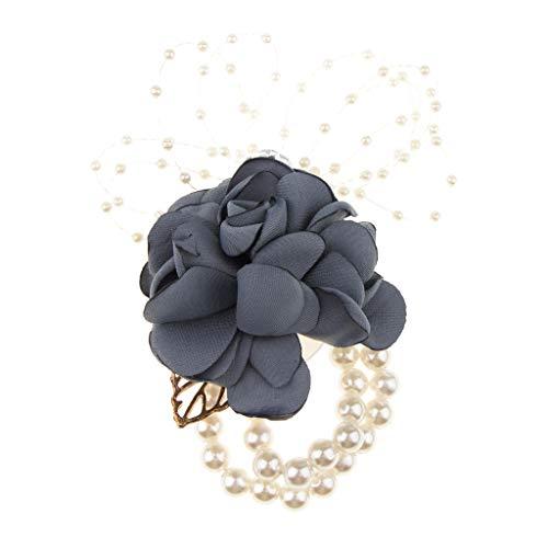 - Schwarz Blumen Mädchen Kostüm
