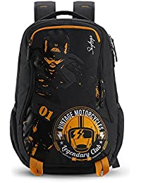 Skybags Xcide Plus 49 Ltrs Black Casual Backpack (SBXCP03BLK)