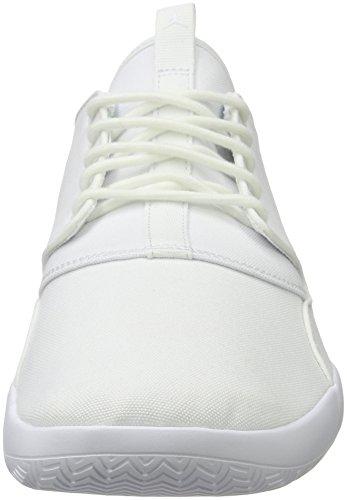 Nike Herren Jordan Eclipse Basketballschuhe, Grau Weiß (Bianco)